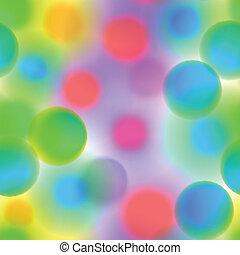 karikák, motívum, seamless, színes