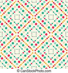 karikák, színezett, nagy, seamless, motívum, kicsi, geometriai