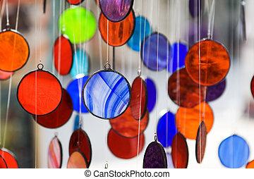 karikák, többszínű