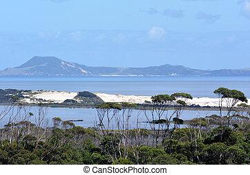 karikari, península, -, nova zelândia
