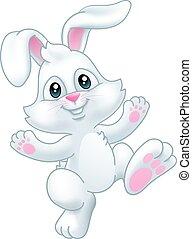 karikatúra, nyuszi nyúl, húsvét