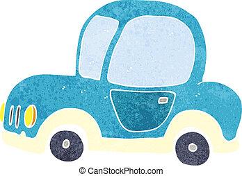 karikatur, auto