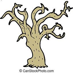 Karikatur Baum