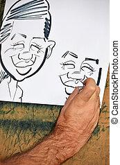 karikatur, karikatur