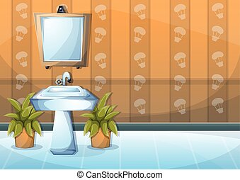 Inneneinrichtung badezimmer karikatur badezimmer for Inneneinrichtung badezimmer
