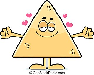 karikatura, tortilla odštípnout se, obejmout