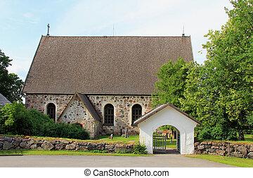 karjaa, chiesa, finlandia