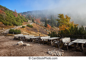 Karkonosze Mountains Autumn Landscape