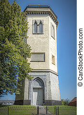 Karlshamn Karl Gustavs Church Belltower Facade