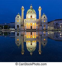 Karlskirche (St. Charles's Church), Vienna