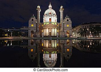 Karlskirche (St. Charles's Church), Vienna (Wein)