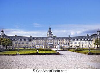 Karlsruhe Castle - Castle of Karlsruhe in...