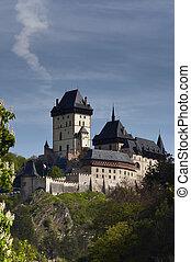 Karlstejn castle - Carl?s stone - Karlstejn - is a large...