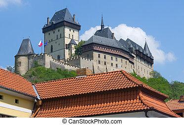 Karlstejn castle, Czech Republic - Famous Gothic Karlstejn...
