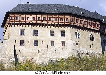 Karlstejn castle near Prague in Czech Republic