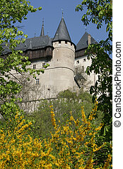 Karlstejn Castle - Very old castle in the country side of...
