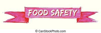 karmowe bezpieczeństwo, wstążka