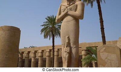 Karnak Temple in Luxor, Egypt. The Karnak Temple Complex,...