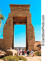 karnak, templo, luxor, egipto