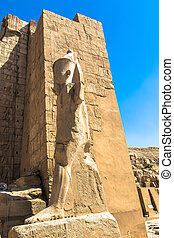 KarnakTemple - Historic temple of Karnak in Luxor Egypt,...