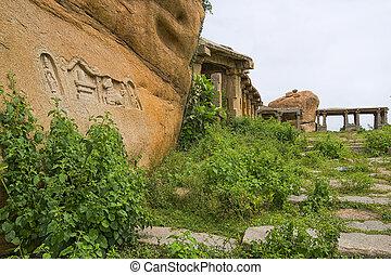 karnataka, hampi, hindus, indie, stan, świątynia