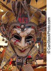 karnawał, maski
