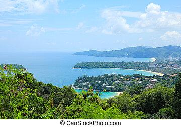 Karon View Point in Phuket ,Thailand.
