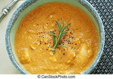karotte, ingwer, suppe