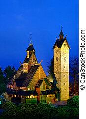 Karpacz church Vang 01