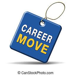 karriär, flyttning
