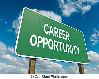 karriere, gelegenheit