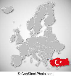 Karta Europa Turkiet.Europa Karta Sverige