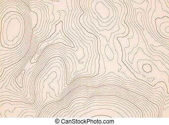 karta, fodrar, abstrakt, topografisk, höjd, bakgrund