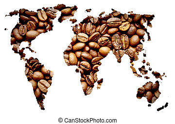 karta, kaffe
