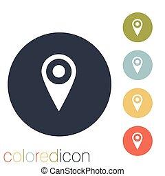 karta, lokalisering, stift