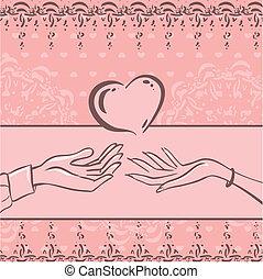 karta, miłość
