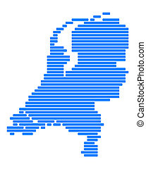 karta, nederländerna