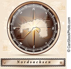 karta, nordsachsen