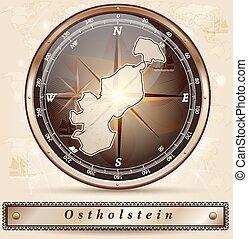 karta, ostholstein