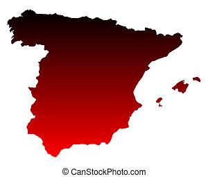karta, spanien