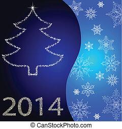 Karta, strom, vánoce, Zlatý Hřeb