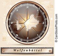karta, wolfenbuettel