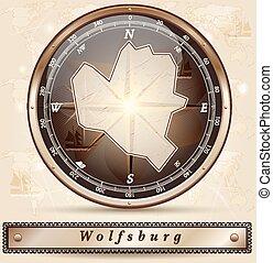 karta, wolfsburg