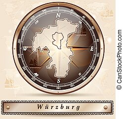 karta, wuerzburg