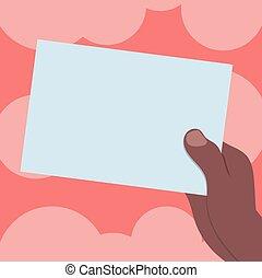 karte, vektor, plan, besitz, geschäftsfarbe, plakat, einladung, gruß, analyse, hu, papier, gutschein, schablone, leer, hand, gezeichnet, beförderung, pappe, leerer , präsentieren