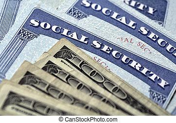 karten, geld, sicherheit, bargeld, sozial