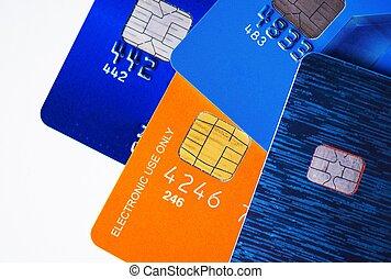 karten, kredit, prämie