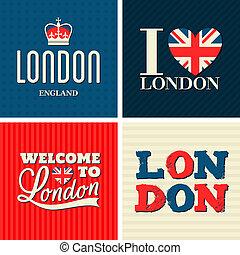 karten, london, sammlung