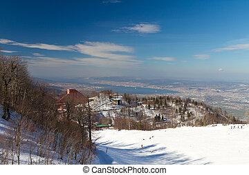 Kartepe Hill, Izmit, Turkey