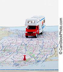 kartera, resa, planer
